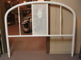 Metal Vintage Bed Frame 1930 S Metal Bed Headboard Frame Only For Sale Antiques