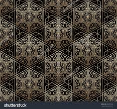 seamless tiled pattern japanese traditional lattice เวกเตอร สต อก