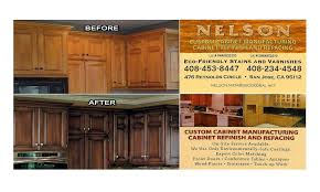 San Jose Kitchen Cabinet Nelson Custom Cabinets U2013 All Wood Furniture And Cabinet Refacing