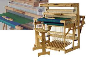 Bench Loom Bountiful Spinning And Weaving Louet Spring Looms With Free