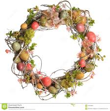 easter wreath stock image image 23113471