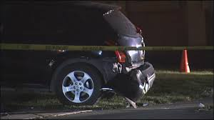 video police pursuit ends with crash shooting in brentwood