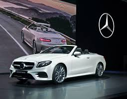 mercedes convertible mercedes e class convertible new york international auto show
