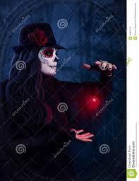 halloween background sugar skulls sugar skull dark magic stock photo image 48857045