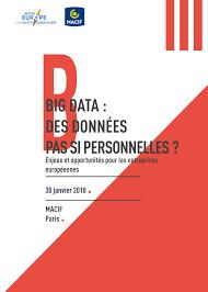 macif si e social 30 janvier 2018 big data des données pas si personnelles