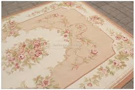Pink 8x10 Rug 8x10 Shabby French Chic Aubusson Rug Light Pink Ivory Cream Subtle