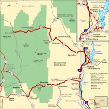 americas byways geronimo trail scenic byway map america s byways travel