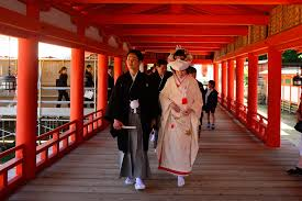 the rituals of a traditional japanese shinto wedding fast japan