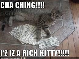 Rich Cat Meme - the eco cat lady speaks january 2014