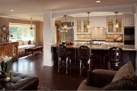 open living room kitchen floor plans open kitchen design with living room