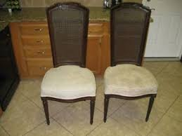 6 stanley furniture cane back dining room chair set on popscreen