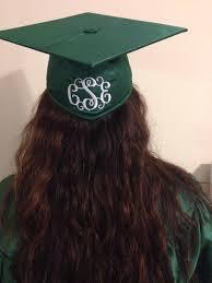 monogram graduation cap graduation cap monogram by kellygrams monograms