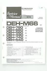 pioneer dc z81 original tape deck amplifier service manual