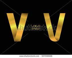 logo letter v element set graphic stock vector 730708822