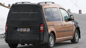 volkswagen caddy 2014 volkswagen caddy facelift spied once again