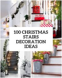 Christmas Decorations For A Patio by 100 Awesome Christmas Stairs Decoration Ideas Digsdigs