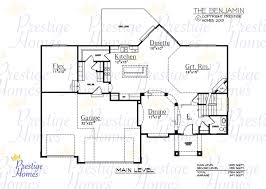 homes floor plans with pictures prestigehomes floorplan benjamin jpg