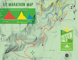 Race Map Herron Half Marathon 10k U0026 5k 6 3 18 Runflathead