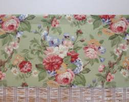floral curtains etsy