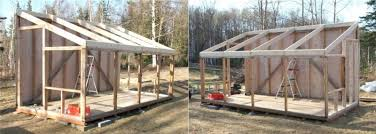 shed style roof shed style roof framing talen try shed roof rafters 2x4 or 2x6