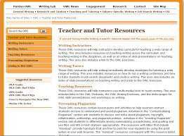 featured resource purdue owl the writing center at msu