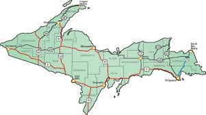 up michigan map the guide by michigan paralyzed veterans of america