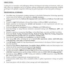 Sqa Resume Sample