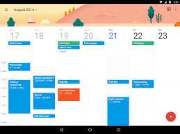 google calendar u0027s update with material design is stunning