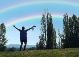 Double Rainbow Meme - double rainbow guy in windows commercial geekologie