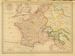 France And Spain Map by France And Its Departments In 1812 Swarldelae Maps On The Web