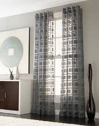 Grommet Draperies Best 25 Geometric Curtains Ideas On Pinterest Grey Patterned
