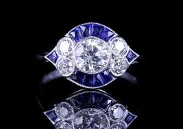 art deco rings laurelle antique jewellery