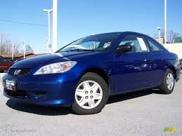 honda civic 2004 coupe 2004 fiji blue pearl honda civic value package coupe 4554525