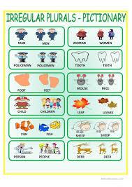 Nouns Worksheet 68 Free Esl Plural Nouns Irregular Plurals Worksheets