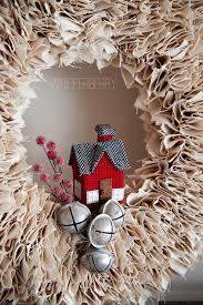 diy winter white wreath tutorial u2022 whipperberry