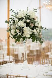Tall Wedding Reception Centerpieces by Best 25 Hydrangea Centerpieces Ideas Only On Pinterest Wedding