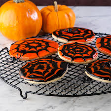 spooky spider stained glass cookies for halloween recipe u2014 dishmaps