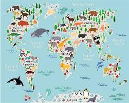 Cartoon World Map by Aliexpress Com Buy Beibehang Custom Photo Wallpaper 3d Cartoon