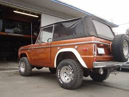 no rust 1972 ford bronco sport offroad for sale