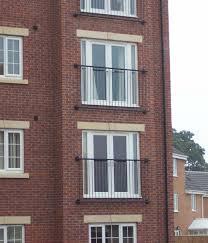 Balconies Juliet Balcony Yorkshire Steel And Glass Balconies