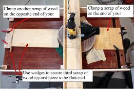 flattening large wood slabs wood workers guild of america