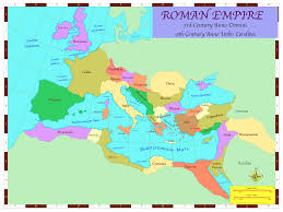 Rome World Map by Roman Maps Project