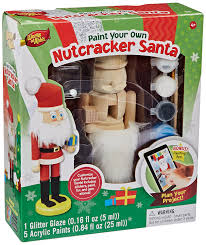 amazon com masterpieces works of ahhh nutcracker santa large wood
