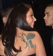 unicorn tattoos body art cheryl cole tattoo