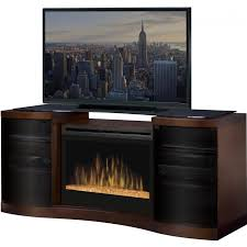 furniture accessories awesome media table with modern fireplace