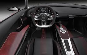 Audi E Tron Interior Audi E Tron Spyder Plug In Hybrid Concept Interior Eurocar News