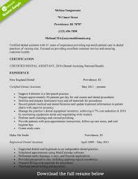 dental assistant resume exles exles of resumes for college students 20 college student