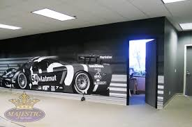 wall decals wall murals window decals custom wall mural for commerical office manufacturer of high performance vehicles