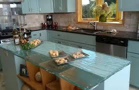 kitchen counter ideas 22 modern and stylish glass kitchen countertop ideas amazing diy