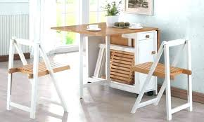 Folding Dining Table With Chair Storage Folding Table With Storage Moniredu Info